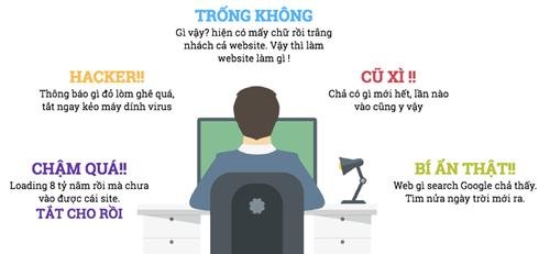 cham soc website