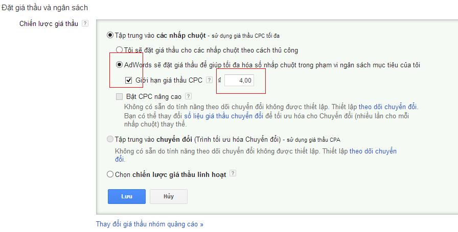 click 1 dong 2