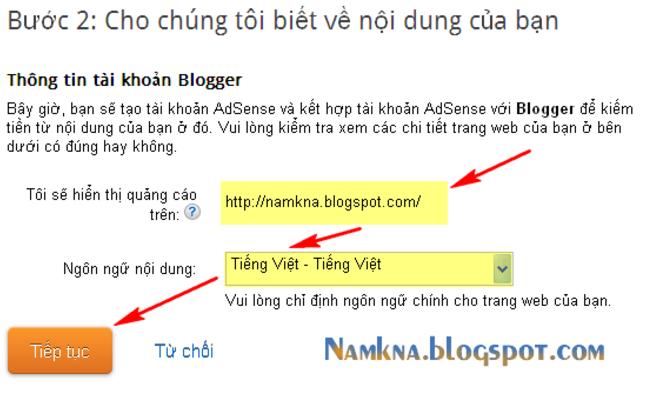 dang ky adsense content thanh cong 4