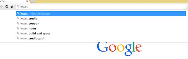 lowes-google-autocomplete