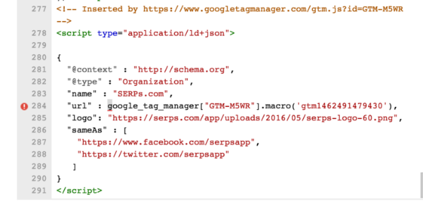 Su dung Google Tag Manager de tu dong tao ra cac the Schema
