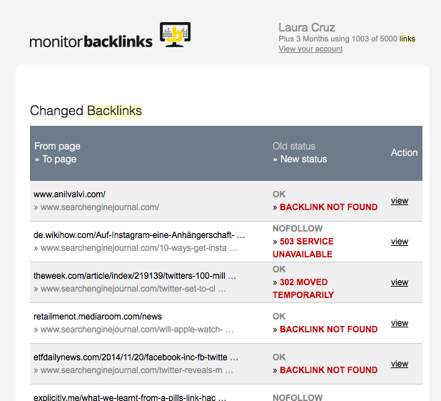 Tong quan ve cong cu Monitor Backlinks 17